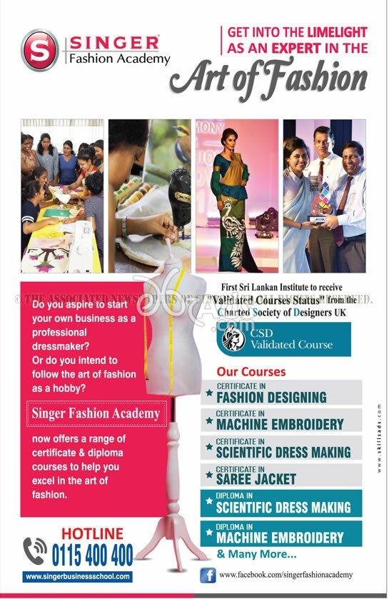 Certificate Courses In Fashion Designing Machine Embroidery Science Dress Making Saree Jacket At Singer Fashion Academy