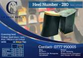 Shoe Heels, Shank and Sole Available, maruads.lk