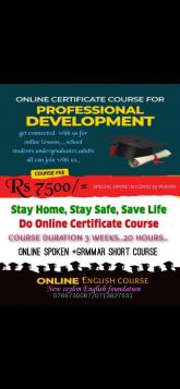 Online teaching, maruads.lk