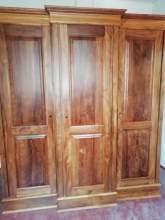 Natural wood Almairah, maruads.lk
