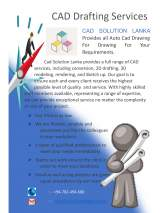 Cad Solution Lanka provides all Auto Cad drawing for your requirements., maruads.lk