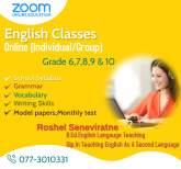English Online Classes, maruads.lk